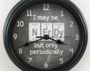 Periodic table clock app images periodic table and sample with 8 best periodic table clock images on pinterest chemistry science periodic table nerdy teachers wall clock urtaz
