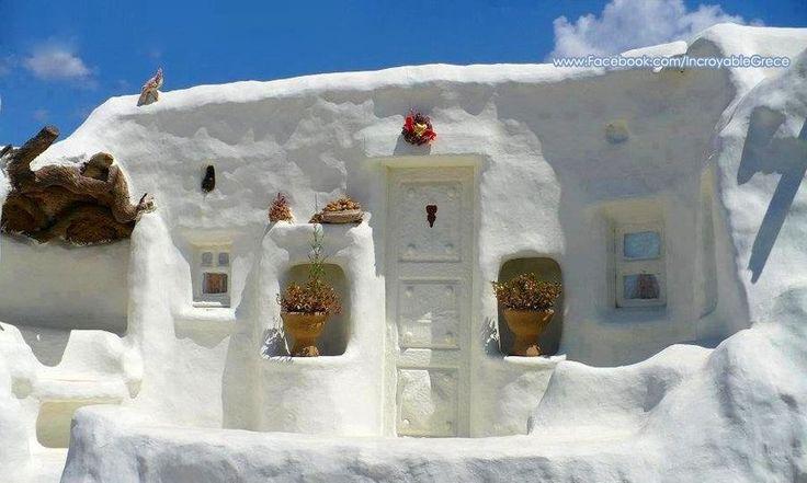 Like a fairytale house.... Anafi island ~ Cyclades