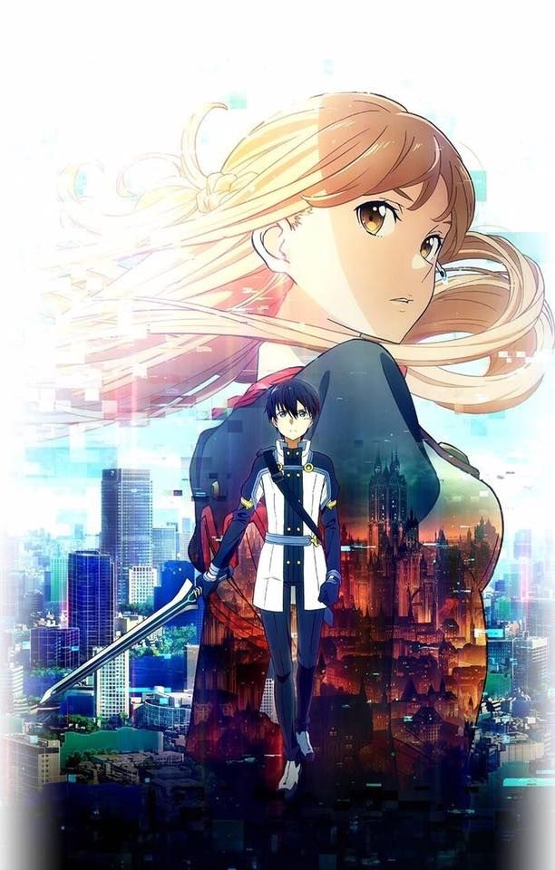 Poster for movie Sword Art Online: Ordinal Scale Begin to show on 18.2.2017