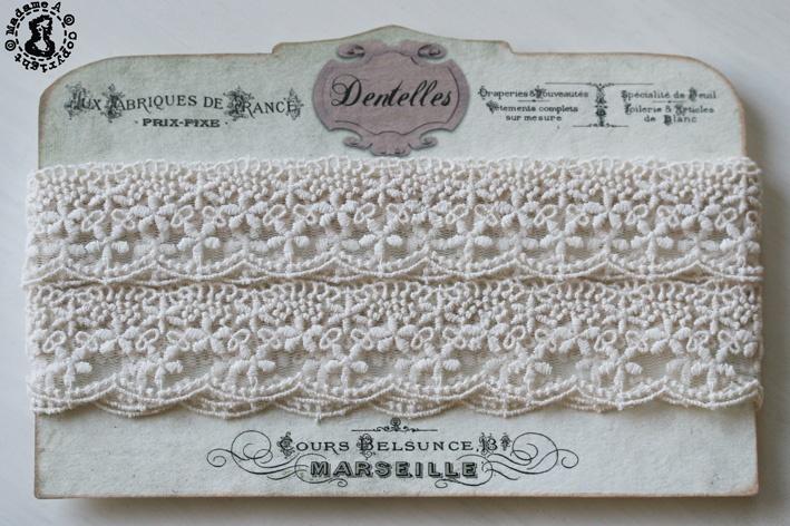 Beautiful vintage lace, www.madamea.no