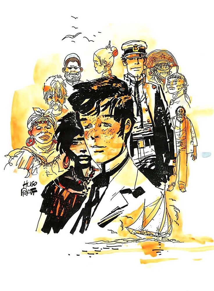 Hugo Pratt - Corto Maltese: Under the Sign of Capricorn (1979)