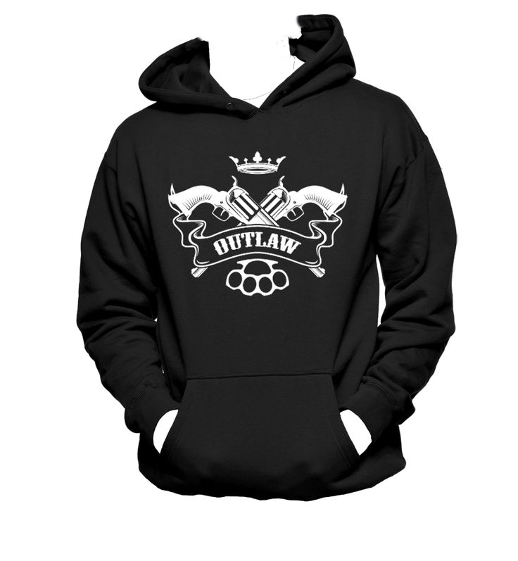 Outlaw, Rocker, Outlaw Country, Supernatural Inspired Unisex Hoodie,Nerd Girl Tees,Geek Chic,T-Shirt,Best Gift,Typography,pop culture