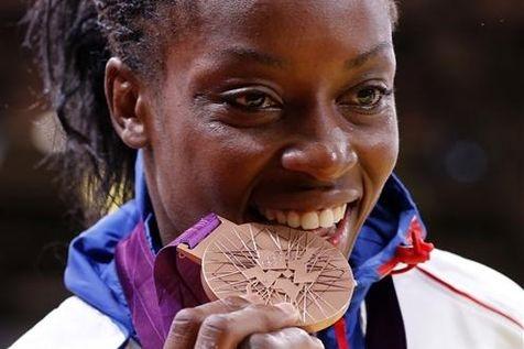 Gévrise Emane/Médaille de Bronze Judo -de 63kg.