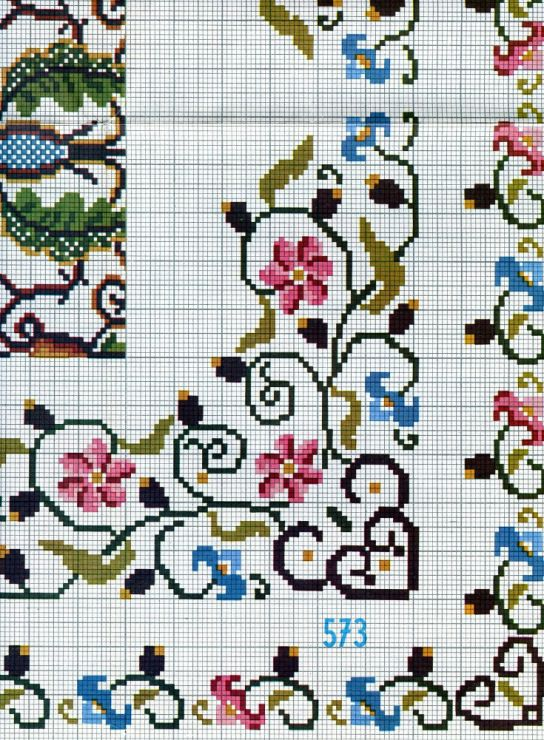 Cross stitch pattern Patrón de punto de cruz
