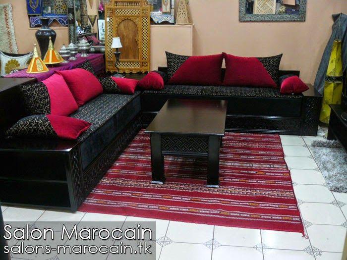 incroyable salon purement marocain avec un dcor artisanal traditionnel adopt par les antcdents maalams tapissiers et - Salon Moderne Algerien