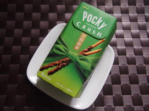 POCKY CRUCH 宇治抹茶