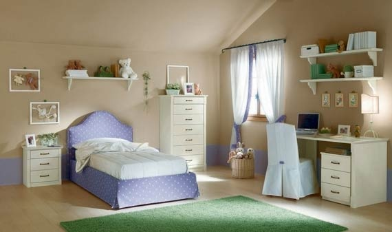 Contemporary Teen Bedroom Design Ideas by Callesella