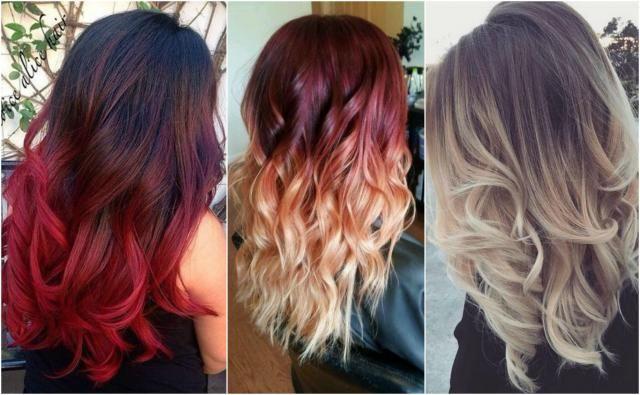 Ombre hair - chciałabyś, którąś z tych fryzur? #włosyombre #włosy #ombre