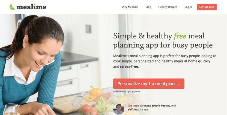 Home menu planning app