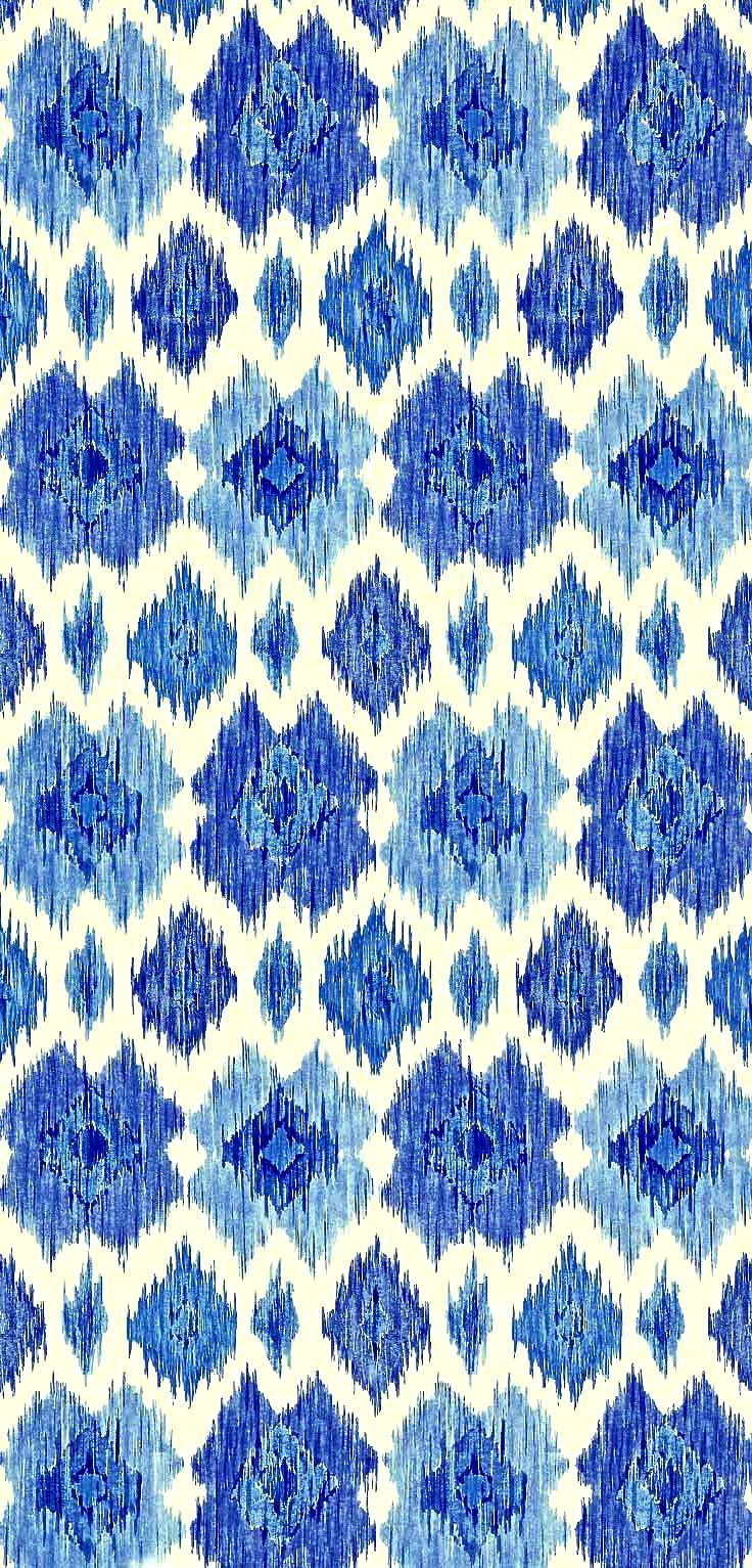Ikat by Thibaut Design blue