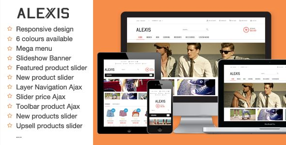 Alexis - Fashion Responsive Magento Theme - Fashion Magento