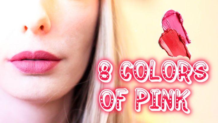 8 ОТТЕНКОВ РОЗОВОГО / 8 COLORS OF PINK
