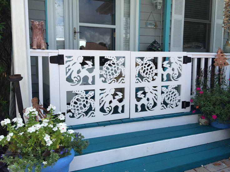 We Create Coastal Themed House Trim Including Decorative