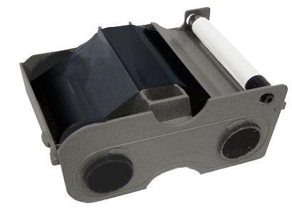 Картридж с лентой и чистящим валиком полимерная черная лента улучшенная 45111