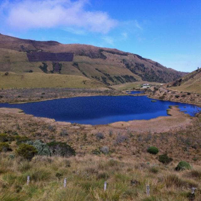 La Laguna Negra en el Nevado del Ruiz - Manizales