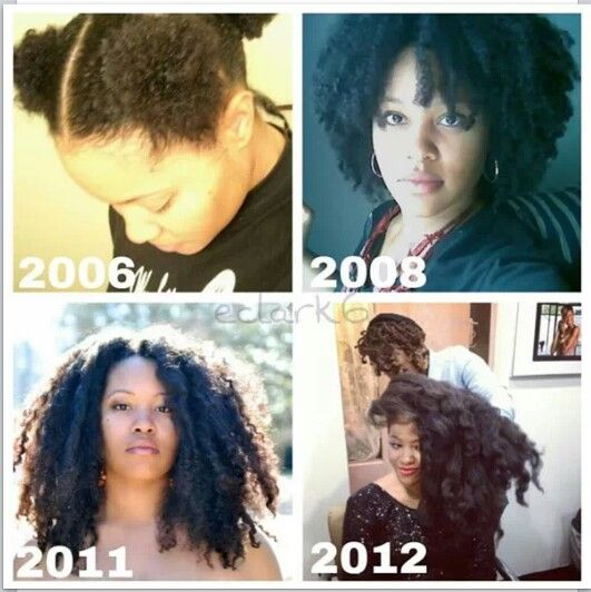 Patience and progress!  Natural hair love it