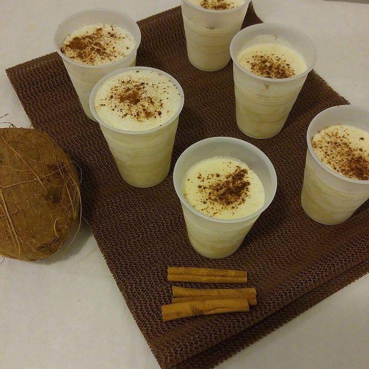 Coconut limber's Puerto Rican style (icee)