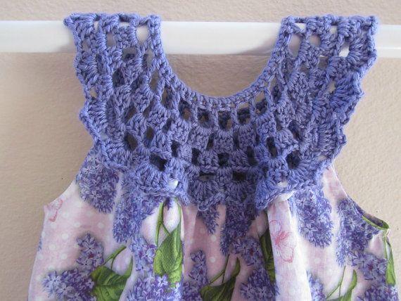 Sundress with crochet bodice by MyComfyGirl on Etsy, $35.00