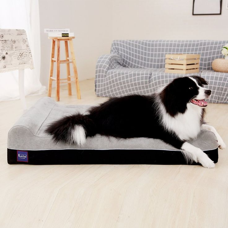 Laifug Orthopedic Memory Foam Extra Large Dog Bed Pillow50x36x8
