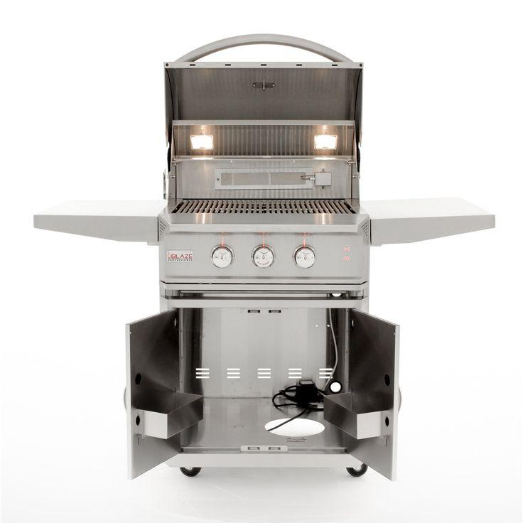 "27"" Blaze 2 Burner Professional Grill Cart in 2020 | Grill ..."
