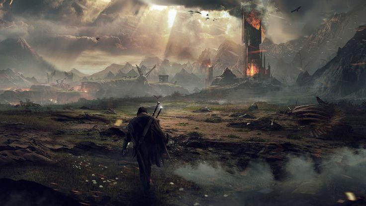 Mordor, Middle-earth: Shadow of Mordor, 2014.