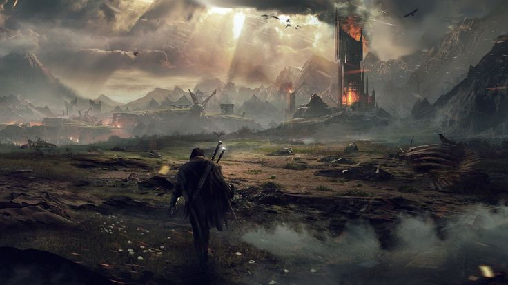 Mordor, Middle-earth: Shadow of Mordor, 2014.