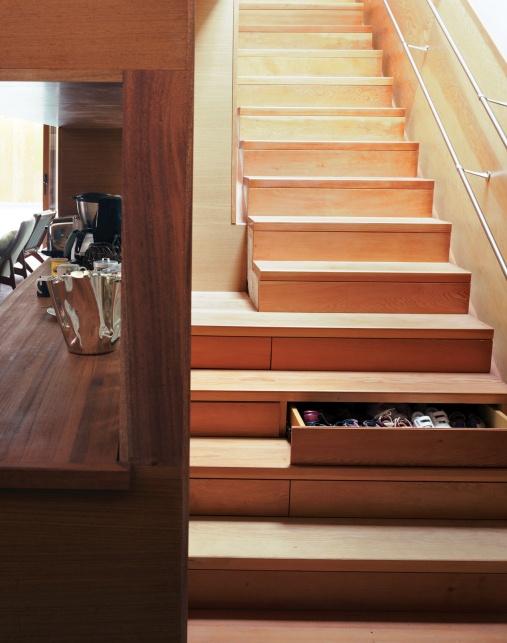 stairs + storage