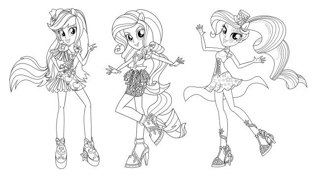 Coloring Pages For Girls My Little Pony Robertdee.org