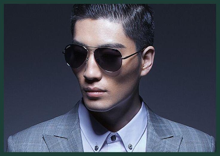 NEW Men's Polarized sunglasses sunglasses stainless steel frame Aviation GZA01-GZA14