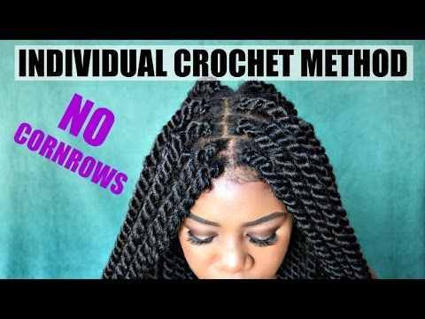 DIY Individual Crochet Havana Twists | NO Cornrows! No Tension! Lightweight! Fast! Under 2 Hrs - YouTube