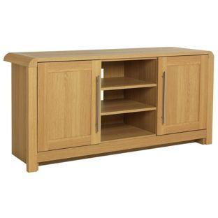 Buy Heart of House Elford Low Sideboard/TV Unit - Oak Effect at Argos.co.uk…
