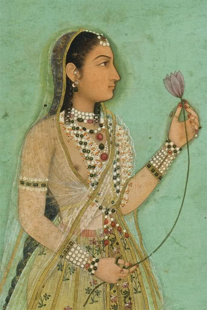 Portrait of a Woman, Mughal, c1640