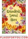 Grandkids Loved Here Garden Flag