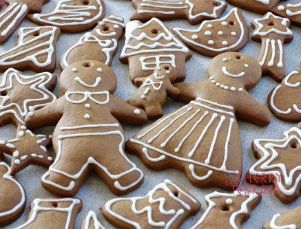 ★おいしい!楽しい!健康!レシピ★ 食べても、飾っても人気のクリスマスクッキー。