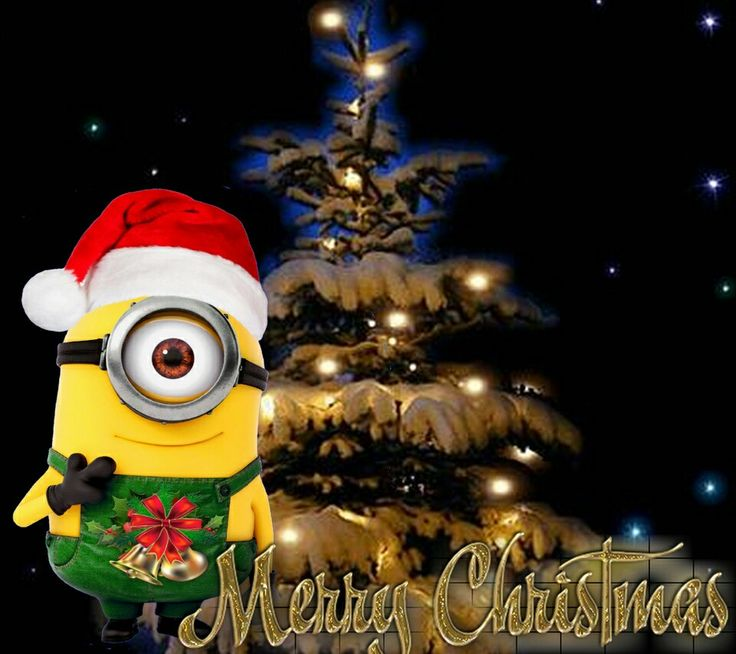 The 25+ best Merry christmas minions ideas on Pinterest | Minions ...