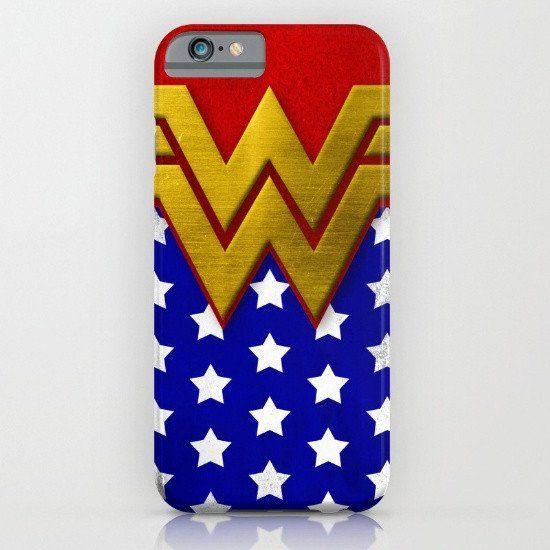 "Wonder Woman Comic Con - Wonder ""Retro"" Woman iphone case, smartphone"