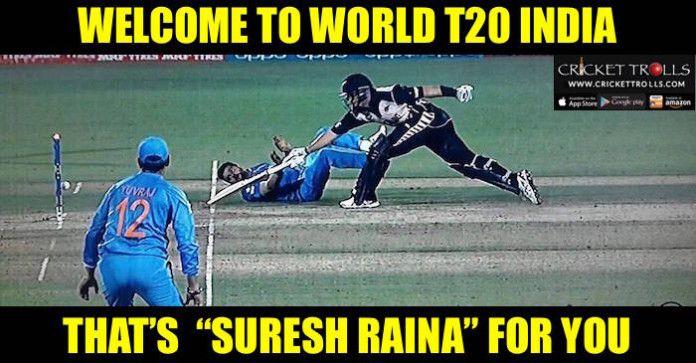 #INDvsNZ #WT20 #T20I #SureshRaina #ICCT20CWC Cricket Trolls  Suresh Raina dismisses Ross Taylor of his superb fielding.  http://www.crickettrolls.com/2016/03/15/suresh-raina-dismisses-ross-taylor-by-his-superb-run-out-wt20-2016/