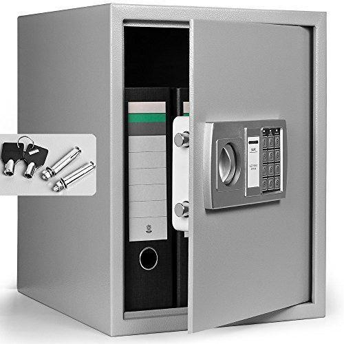 Digital Steel Safe Electronic Money Safe Large Digital Money Safe Box 35x40x40cm : file safe box - Aboutintivar.Com