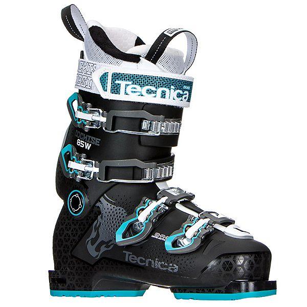 Tecnica Cochise 85W Womens Ski Boots 2017, Black-Blue