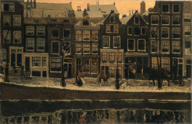 Lauriergracht, Amsterdam - George Hendrik Breitner, 1895