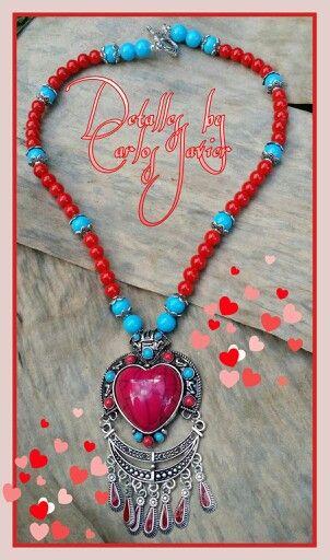 Collar de Corazón Gitano