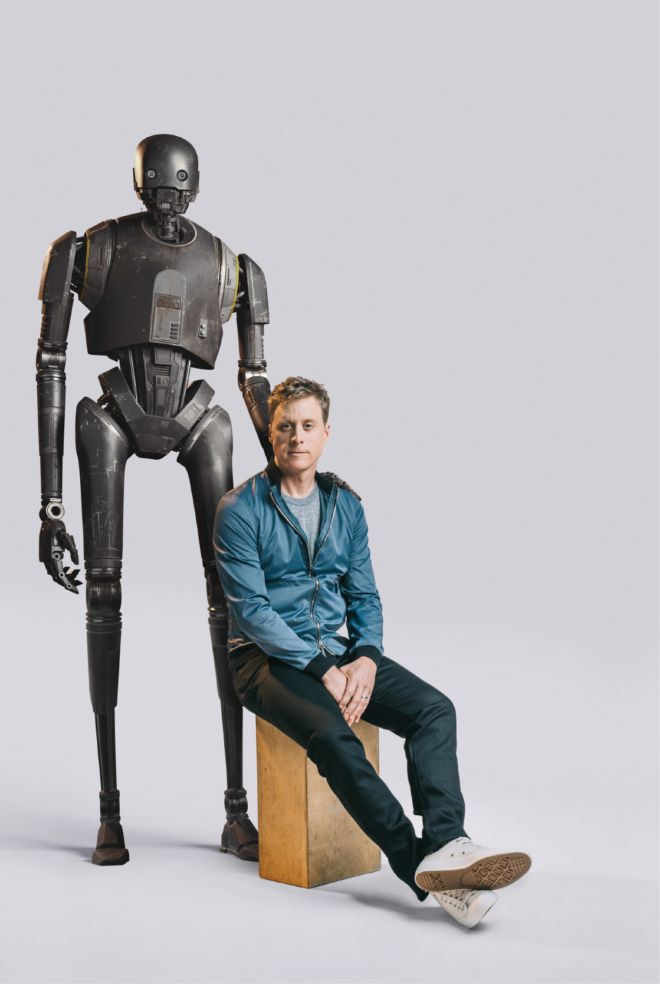 How Rogue Ones Alan Tudyk Turned Himself Into a 7-Foot Droid