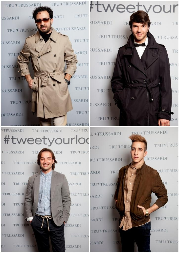 Men with style  #TweetYourLook with Tru Trussardi Rome Styling Set ~ The Dolls Factory