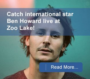 Head to the Zoo Lake for an outdoor concert featuring international star, Ben Howard. #benhoward #Joburg #Joburgcoza #ThingsToDoJoburg  #ThingsToDo