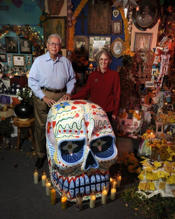 This Man Brought Día de Muertos to Houston Heights Despite the Haters