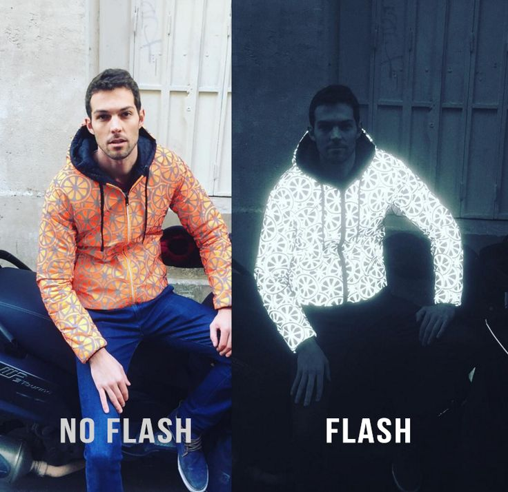 Reflective and fluorescent jacket. A fashion safety vest for scooter. Be seen at…