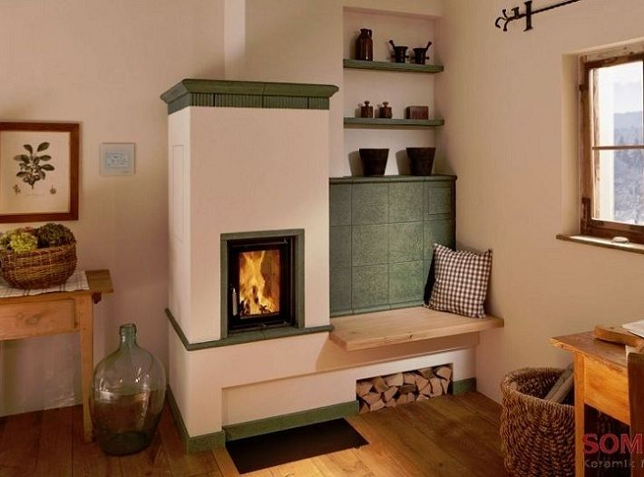 Masonry Heaters: Lots of info here Also known as masonry stoves, kachelofens, Russian fireplaces, Finnish fireplaces, Swedish stoves, tile stoves, contra-flow fireplaces, radiant fireplaces and mass-storage fireplaces.
