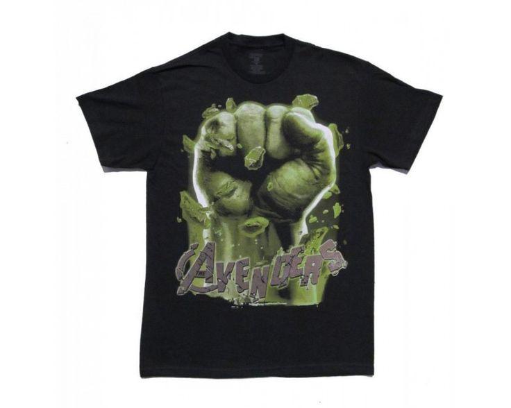 Avengers Movie Hulk Fist Tshirt-537