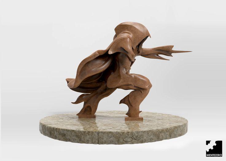 Tribute to Assassin's Creed Unity by Stefano Mancini - MenteZero  #doodle #sculpture #reference #fanart #art #3d #zbrush #assassins #creed #unity #futurism #futuristic #art #concept #modeling #model #amazing #sculpture #inspiration #character #male #mentezero #amazing #inspiration