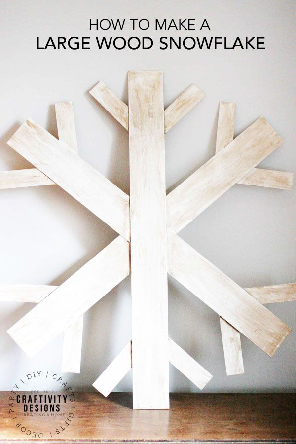 How To Make A Wood Snowflake Wreath Wood Snowflake Snowflake Wreath Snowflakes Wall Decor